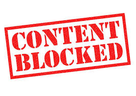 """Blocking """"Offensive"""" Content"""